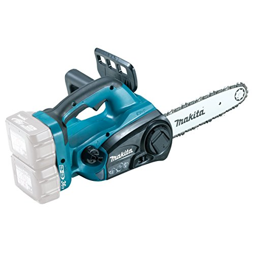 Makita DUC252Z Cordless Chainsaw, 1 W, 18 V, Blue