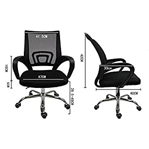 Elecktra Mesh Low Back Computer Staff Rotating Metal Task Cushion Chair W/ Wheels Adjustable Tilt Chair For Computer & Office Desk