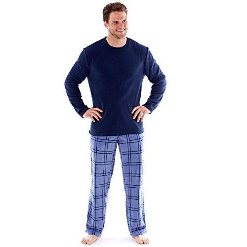 Harvey-James-Pijama-Cuadrados-para-hombre
