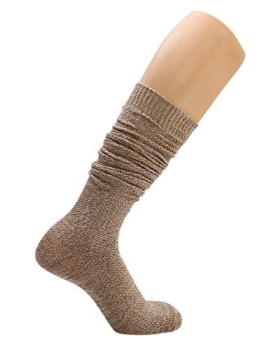 KUULEE Trachtensocken Trachtenstrümpfe Socken Herren Kniestrümpfe in 2 Farben für das Oktoberfest - 3
