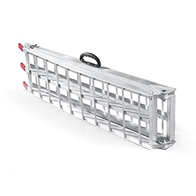 Folding loading ramp scooter ramp ATV Quad portable aluminium 89x12 inches 750lbs (226cm 340kg)