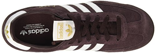 adidas Unisex – Adulto Dragon scarpe sportive Rosso (Night Red/ftwr White/core Black)