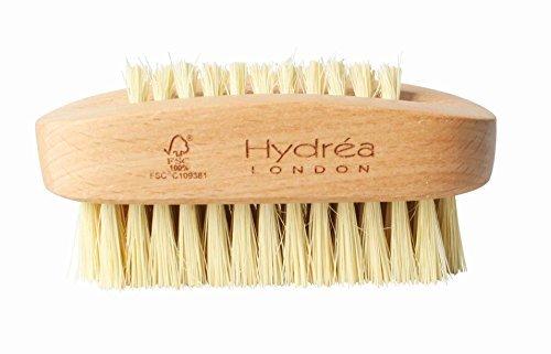 Hydrea London Brosse Ongles Double Face Poils Cactus & Bois Hêtre Force Dure