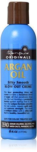 Renpure : Argan Blow Out Creme (Brushing Parfait & Protégé)