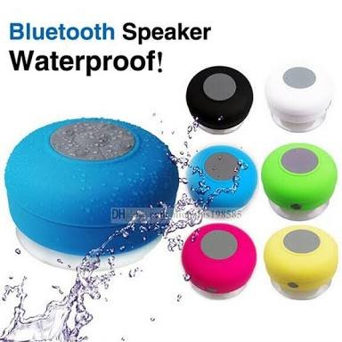 Hydrise Portable Waterproof Bluetooth V4.0 Speaker with Mic, Hands-Free Feature (Color May Vary, Multi Colors)