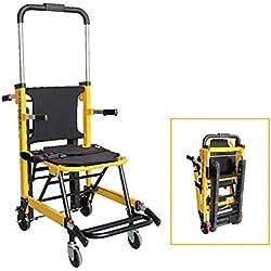 QETU Chaise d'évacuation d'escalier, Nettoyage Facile Et Opération d'évacuation d'urgence en Cas D'incendie, Chaises d'évacuation, Capacité de 180 Kg / 396.8 LB