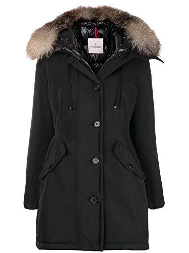 new concept 3327c 96b2f Moncler Damen 499342557136999 Schwarz Polyester Jacke