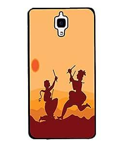 Fuson Designer Back Case Cover for Xiaomi Redmi Mi 4 :: Redmi Mi 4 (On namah shivay trishul damaru)