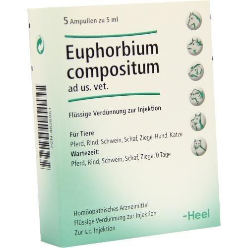 EUPHORBIUM COMPOSITUM ad us.vet.Ampullen 5X5 ml