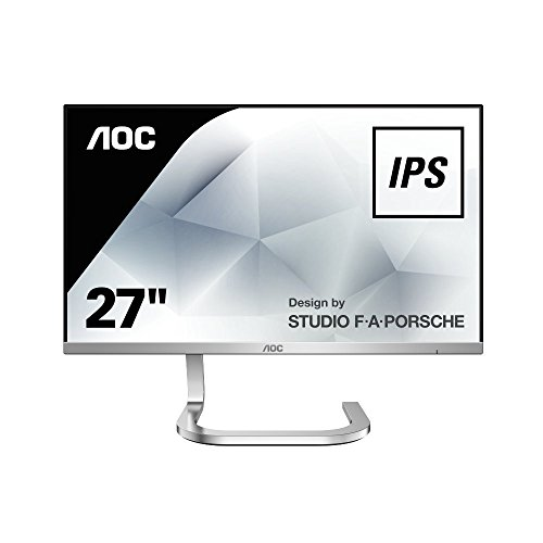 """AOC Monitores PDS271 - Monitor de 27"""" (resolución 1920 x 1080 pixels, tecnología WLED, contraste 1000:1, 4 ms, HDMI), color negro"""