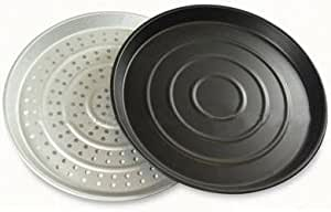 Andrew James Non-Stick Baking and Steamer Trays for 10-17 Litre Halogen Oven Cookers - Dishwasher Safe