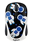 Logitech M238 Mouse Wireless, Party Collection, Spaceman, Multicolore