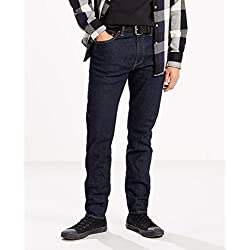 Levi's 512 Slim Taper Fit Vaqueros Tapered, Azul (Rock Cod 0280), 34W / 30L para Hombre