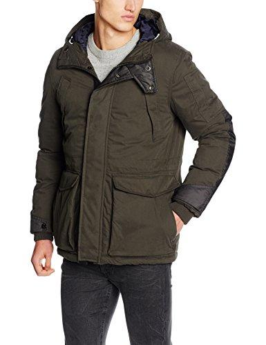 G-STAR RAW Herren Jacke Expedic Hooded Cotton Jacket Grün (Asfalt 995)