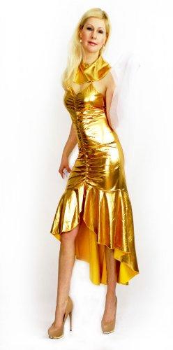 Cleopatra griechische Göttin Ägypterin Pharao Kostüm Karneval Fasching 34 - 36, Kleidergr. Damen:S (Kostüme Erwachsene Caesar Perücke)