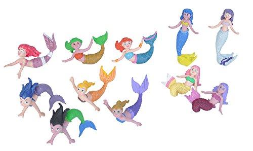 Wild Republic 20857 Figuren-Spielset Meerjungfrauen, Mehrfarbig -