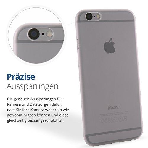 Crystal Case iPhone 5 / 5s / 6 /6s / 6 Plus / 7 Schutzhülle matt milchig Cover Bumper Hülle (iPhone 7)