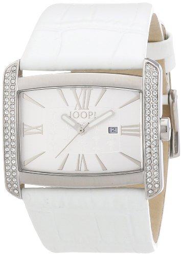 Joop - JP101182F03 - Montre Femme - Quartz Analogique - Bracelet Cuir Blanc