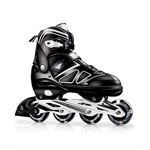 GSKTY Inline Skates Kinder/Erwachsene verstellbar mädchen/Jungen Inline Skates Rollschuhe PU Verschleißfeste Roller Skates Unisex -
