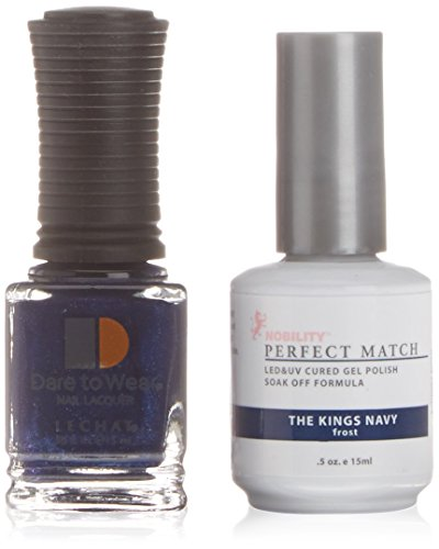 LeChat Perfect Match UV/LED Gel Vernis à Ongles The Kings Navy
