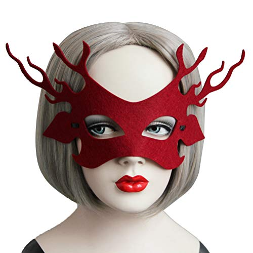 BESTOYARD Halloween Party Augen Dekoration Masken Frauen Maskerade -
