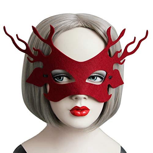 Halloween Maschere.Bestoyard Fiesta De Halloween Mascaras De Decoracion De Ojos Mujeres Mascaras De Disfraces Fiesta De Baile De Carnaval Media Cara Mascaras De