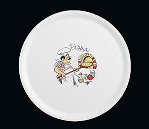 Pizzateller Bäcker Teller XXL Durchmesser 31 cm
