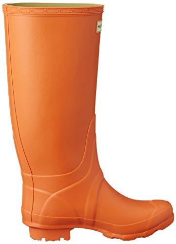 Hunter Huntress Wellies, Bottes femmes Orange Lichen
