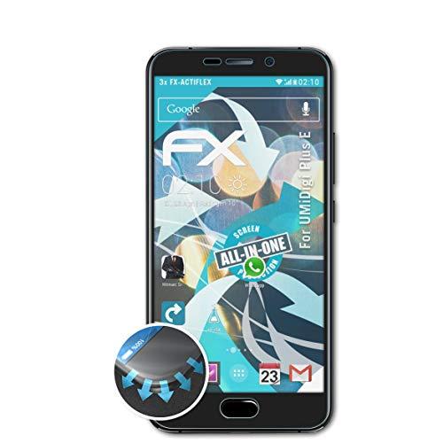 atFolix Schutzfolie passend für UMiDigi Plus E Folie, ultraklare & Flexible FX Bildschirmschutzfolie (3X)