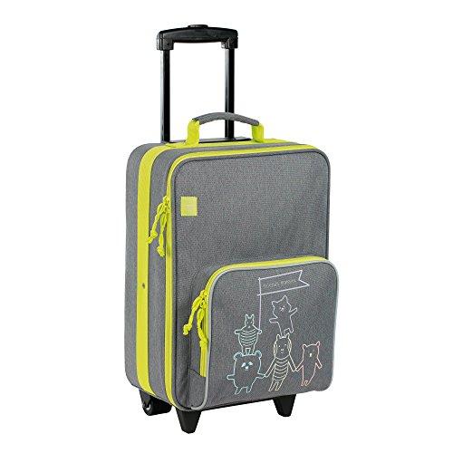 Lässig Trolley Kinderkoffer / Reisekoffer für Kinder  About Friends grau