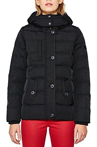 ESPRIT Damen Jacke 097EE1G019, Schwarz (Black 001), X-Small