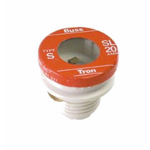 Sl Plug Fuse (Bußmann sl-30pk430Amp Time Delay geladen Link Ablehnung Boden Plug Fuse, 125V Ul Listed, 4er Pack)
