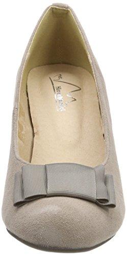 Andrea Conti 1004504, Fermé Toe Heel Chaussures Femme Beige (taupe)