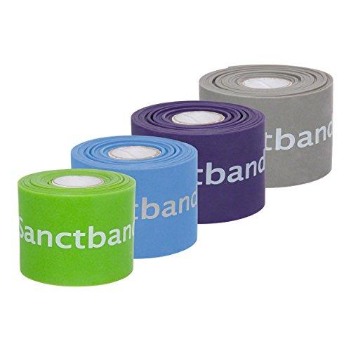 Flossband Level 1-4, 2m x 5 cm, 4er Set