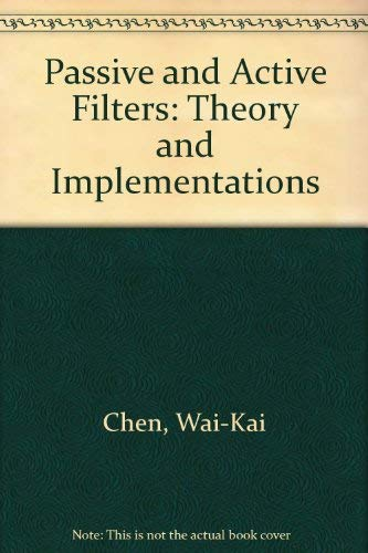 Passive and Active Filters: Theory and Implementations PDF Books
