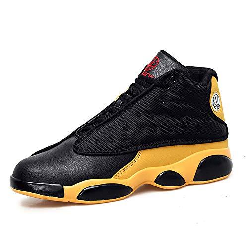 ASDFGH Basketball-Schuhe, Hohe Hilfe Rutschfeste Verschleißfeste Stoßdämpfung Atmungsaktive Männer Sportschuhe Outdoor Laufschuhe,B,41 - Männer Jordan Schuhe