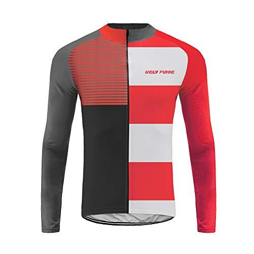 Uglyfrog Fahrradjacke/Jersey Sportswear Atmungsaktiv Lange Ärmel Winddicht Coat Reflektierende Trikots & Shirts DEMIX01