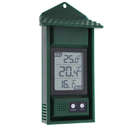 Max Min Thermometer Digital-Garten Gewächshaus Raum Growroom Wintergarten Kann Verwendet Werden Innen -