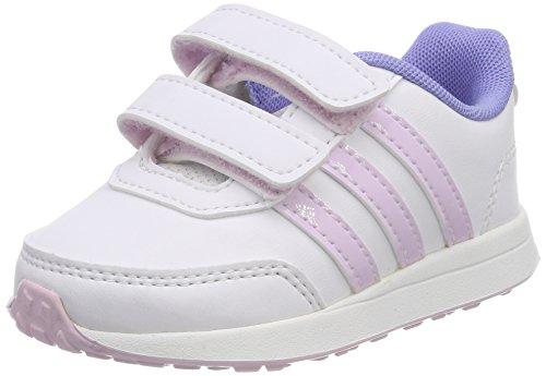 adidas Unisex Baby Vs Switch 2 CMF Gymnastikschuhe, Mehrfarbig (FTWR White/Aero Pink S18/Chalk Purple S18), 27 EU