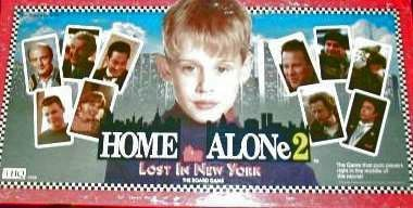 Home Alone 2 Lost in New York Board Game by THQ