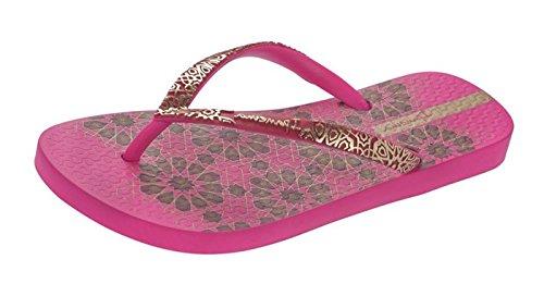 Ipanema Indian II Femmes Tongs - Sandales - noir pink