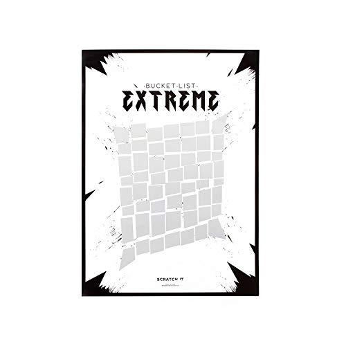 Thumbs Up Scratch poster-extreme-liste de tareas para rascar, SC, Color blanco