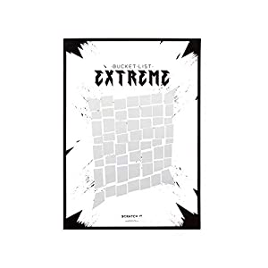 Thumbs Up Scratch poster-extreme-liste de tareas para rascar, SC, Color blanco