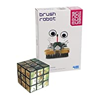 Gadget & Gift Store Robot Brush A Smart Way To Learn About Electronics - Comes with a Fun Wild Animal Magic Cube