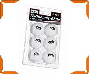 idee+spiel 744-74404 Tischtennis-Bälle