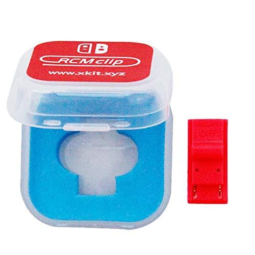 Liteness 2 Packungen DN Clip Papier Clip RCM Kurzstecker für Nintendo Switch RCM AShort Circuit Toolsroger und Modified Shorting Kits.