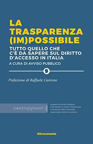 La trasparenza (im)possibile: tutto quello che  c'è da sapere sul diritto d'accesso in Italia (Saggio)