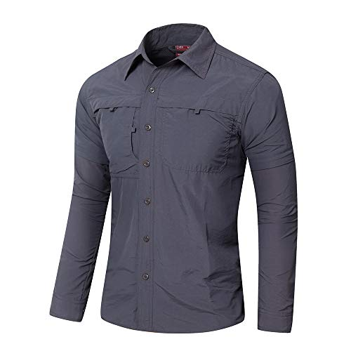 Acu Digital Uniform Shirt (Eickawa Langärmliges Army Combat Hunting Uniform T-Shirt für Herren)