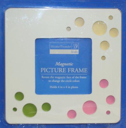 Magnetische Bilderrahmen Holz Rahmen-Drehen die magnetische Gesicht auf die Kreis Farben