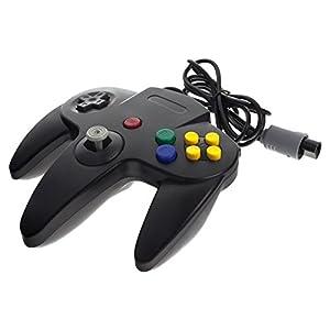 Smartfox Controller Gamepad Joypad Joystick für Nintendo 64 N64 in schwarz